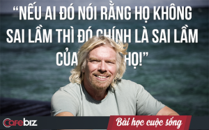 Nản chí vì thất bại quá nhiều? Chưa đâu, hãy nhìn những thứ mà tỷ phú Richard Branson từng trải qua bạn sẽ còn thấy mình may mắn chán